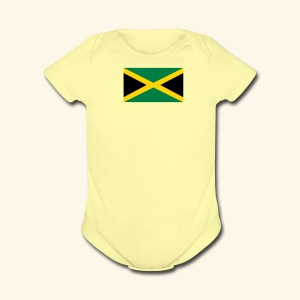 Jamaica baby products - Short Sleeve Baby Bodysuit