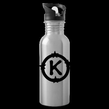 Letter K Water Bottle