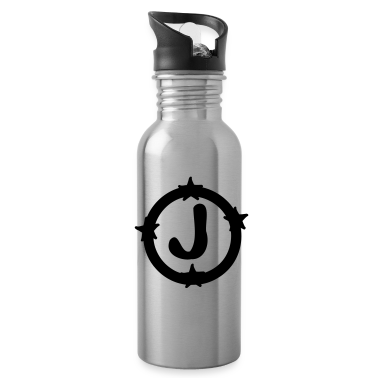 Letter J Water Bottle