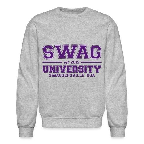 swag university sweatshirt - Crewneck Sweatshirt