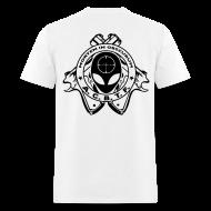 T-Shirts ~ Men's T-Shirt ~ ALIEN CAVE BASE TASK FORCE - WHITE