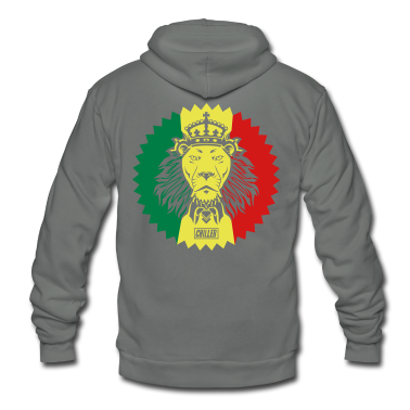 Chiller Rasta Lion Zip Hoodies/Jackets
