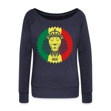 Chiller Rasta Lion Long Sleeve Shirts