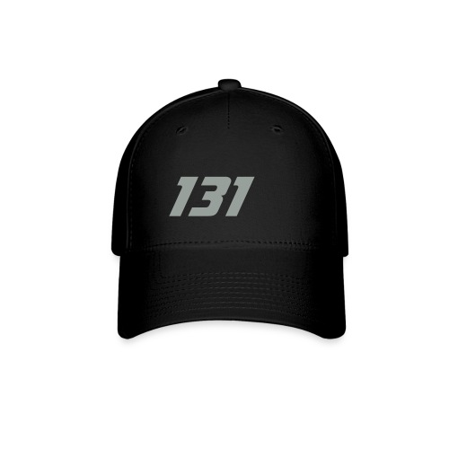 131 Blk flexfit hat  - Baseball Cap