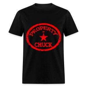 Property Of Chuck Shirt - Men's T-Shirt