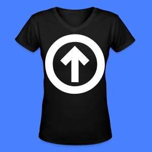 Above The Influence Women's T-Shirts - stayflyclothing.com - Women's V-Neck T-Shirt