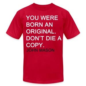 BORN AN ORIGINAL - Men's Fine Jersey T-Shirt