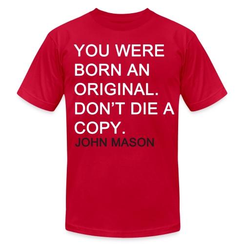 BORN AN ORIGINAL - Men's  Jersey T-Shirt