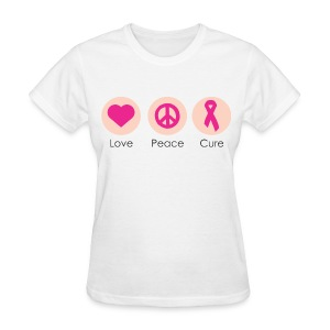 Love Peace Cure - Women's T-Shirt