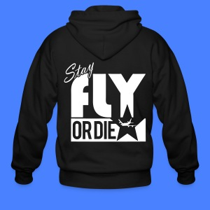 Stay Fly Or Die Zip Hoodies/Jackets - stayflyclothing.com - Men's Zip Hoodie