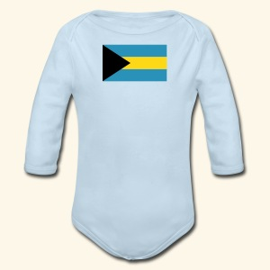Bahamas baby accessories - Long Sleeve Baby Bodysuit