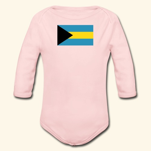 Bahamas baby fashion - Organic Long Sleeve Baby Bodysuit