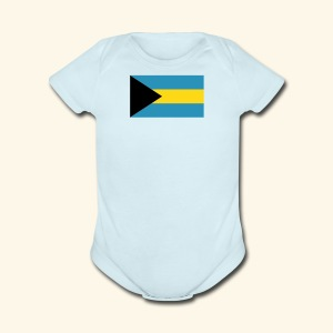 Bahamas baby fashion - Short Sleeve Baby Bodysuit