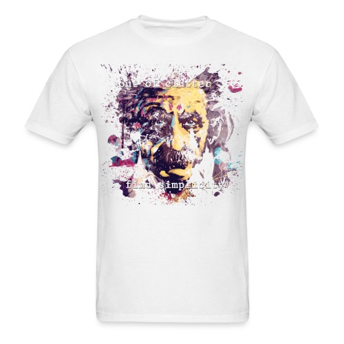 FIND SIMPLICITY - EINSTEIN - Men's T-Shirt