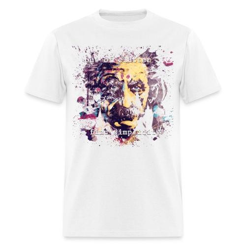 FIND SIMPLICITY - EINSTEIN - Men's T-Shirt