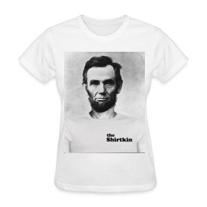 Abraham Lincoln Shirtkin  - Women's - Women's T-Shirt