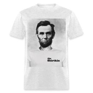 Abraham Lincoln Shirtkin  - Men's - Men's T-Shirt