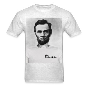 Abraham Lincoln Shirtkin  - Men's - Men's T-Shirt