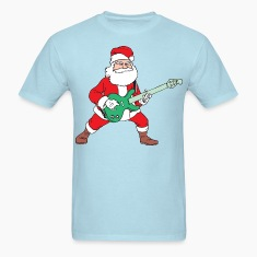 Rock and Roll Santa T-Shirts