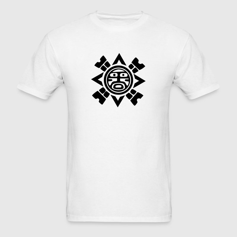 Tribal Sun Symbol VECTOR T-Shirts - Men's T-Shirt