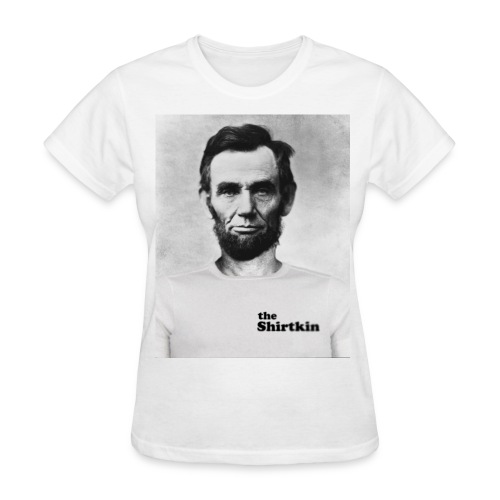 Abraham Lincoln Shirtkin (women) - Women's T-Shirt