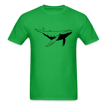 Whale VECTOR T-Shirts