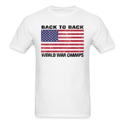 Back-to-Back World War Champs (Standard T) - Men's T-Shirt