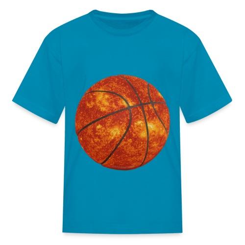 Basketball Sun - Kids' T-Shirt