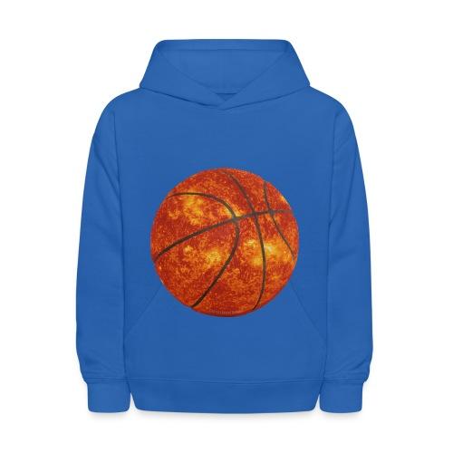 Basketball Sun - Kids' Hoodie