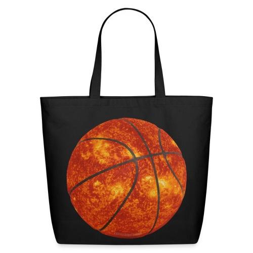 Basketball Sun - Eco-Friendly Cotton Tote