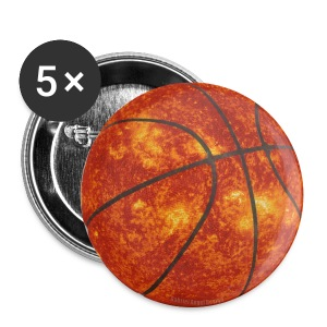 Basketball Sun - Large Buttons