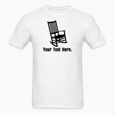 Rocking Chair VECTOR T-Shirts
