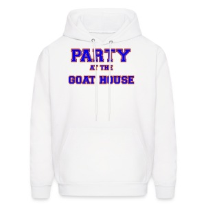 Party at the Goat House Hooded Sweatshirt - Men's Hoodie