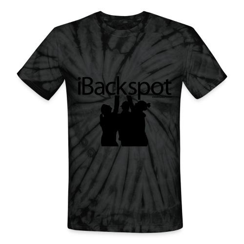 iBackspot T-shirt - Unisex Tie Dye T-Shirt