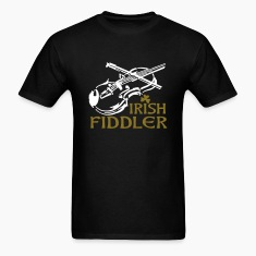 Irish Fiddle T-Shirts