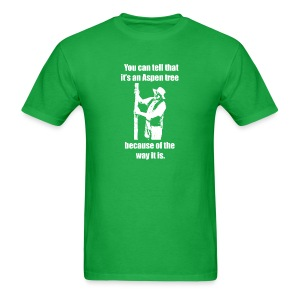 You can tell that it's an Aspen... T-shirt - Men's T-Shirt