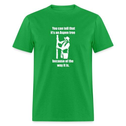 You can tell that it's an Aspen... T-shirt - Men's T-Shirt