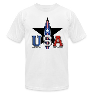 Black Star - Men's T-Shirt by American Apparel