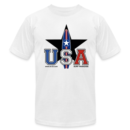 Black Star - Men's Fine Jersey T-Shirt