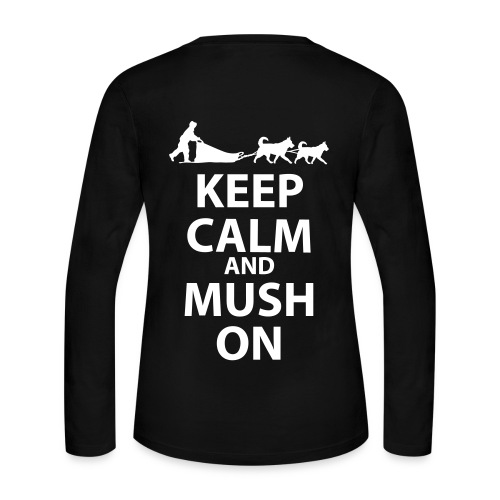 Keep Calm and MUSH On Women's Long Sleeve - Women's Long Sleeve Jersey T-Shirt
