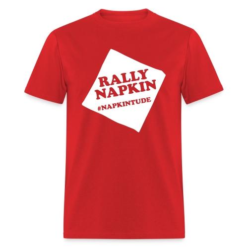 Rally Napkin Tee - Red - Men's T-Shirt