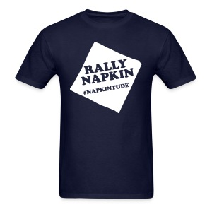 Rally Napkin Tee - Navy - Men's T-Shirt