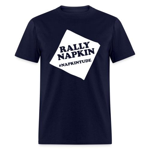 Rally Napkin Tee - Navy - Men's T-Shirt