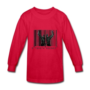 Chained By Capitalism - Kids' Long Sleeve T-Shirt