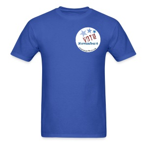 Vote November 6 T-shirt - Men's T-Shirt