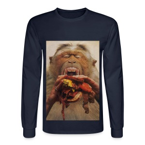 No More Fast Food - Men's Long Sleeve T-Shirt
