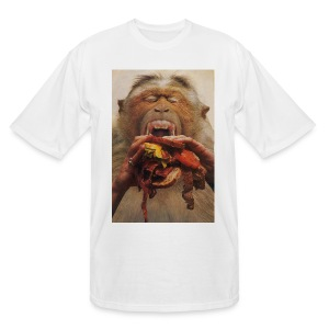 No More Fast Food - Men's Tall T-Shirt