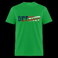T-Shirts ~ Men's T-Shirt ~ A Detroit Flag