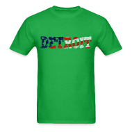 T-Shirts ~ Men's T-Shirt ~ A Detroit Flag