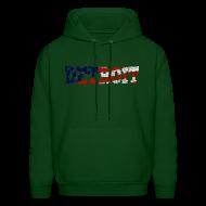 Hoodies ~ Men's Hoodie ~ A Detroit Flag
